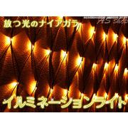クリスマスイルミネーション 320灯ネット式カーテンライト